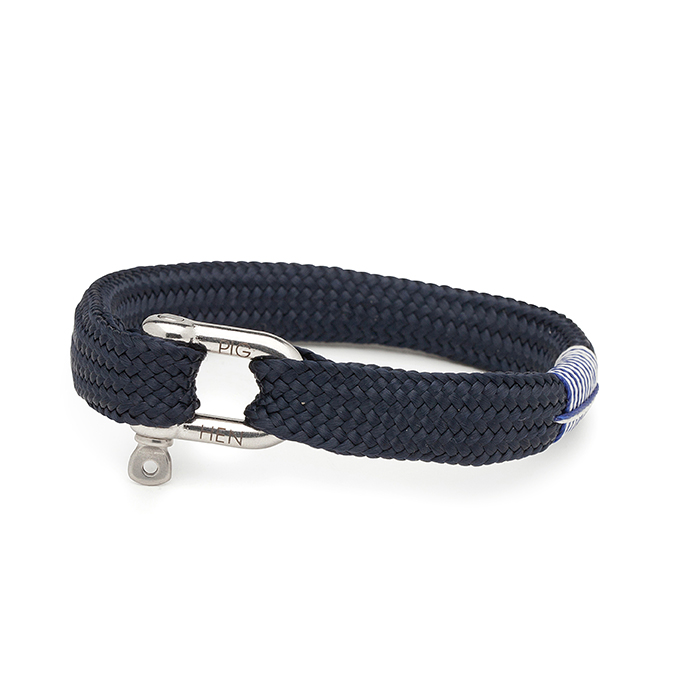 Bracelet en corde de bateau Sharp Simon - Pig & Hen - Heureux comme un Prince