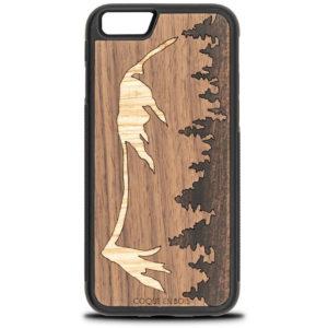 Coque iPhone Mont Mézenc - Coque en bois & Heureux comme un Prince