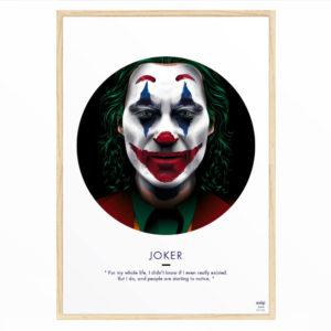 Affiche Joachim Phoenix Joker - ASAP & Heureux comme un Prince