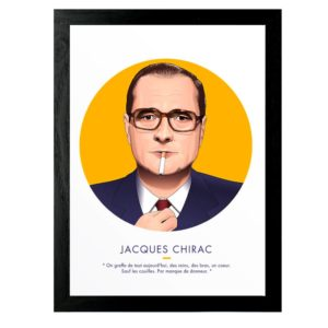 Affiche Jacques Chirac - ASAP & Heureux comme un Prince