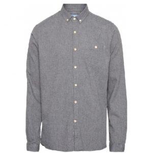 chemise-flanel-coton-bio-dark-grey-heureux comme un prince